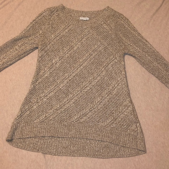New York & Company Tops - Gold knitted tunic